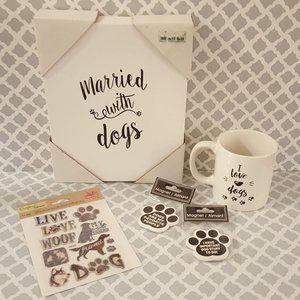 Other - Dog lovers lot - Married with dogs canvas & more!